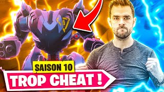 🏆SHOCKED! I DEtruit ALL IN NEW ROBOT TOO CHEAT - BACK OF MY FACTORY FORTNITE SAISON 10!