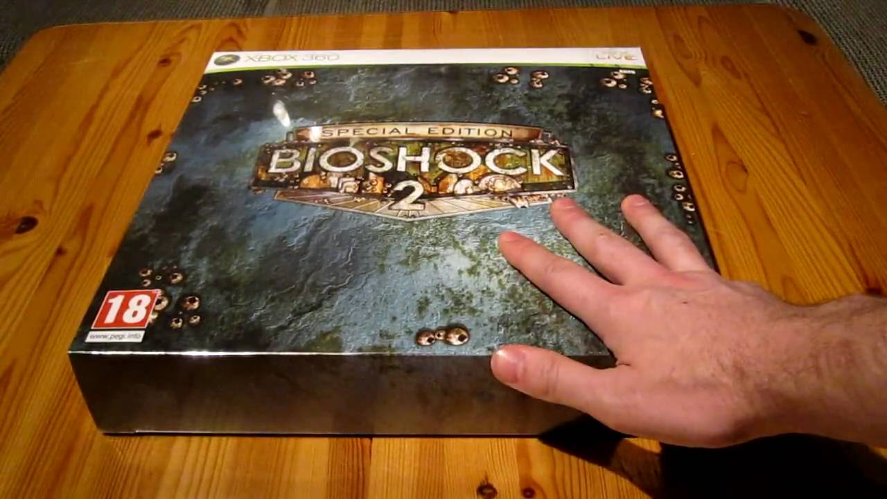 Unboxing Bioshock 2 Special Edition Youtube