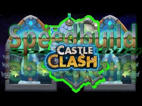 Castle Clash Town Hall 13 Guild Wars Base Speed Build