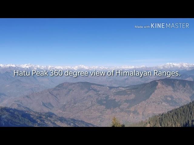 Hatu Peak Narkanda