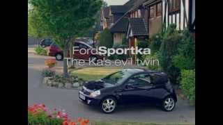 Ford Ka Commercial - Evil Twin - Cat
