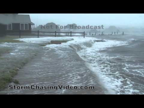 8/28/2011 Hurricane Irene Storm Surge Camera, Groton, CT