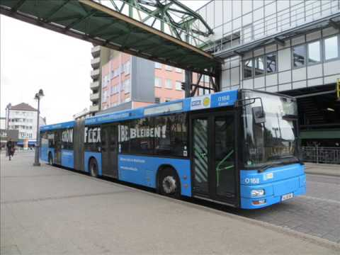 [Sound] Bus MAN NG 313 (Wagennr. 0168) der WSW mobil GmbH, Wuppertal