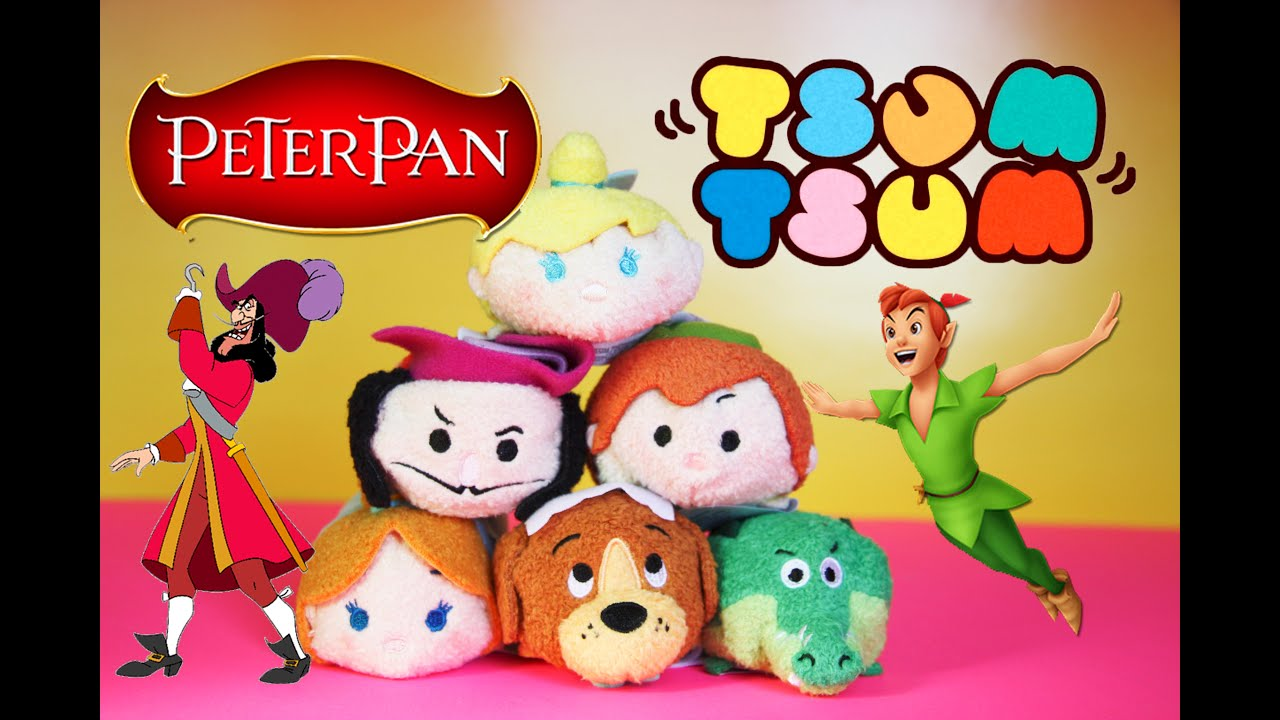 Peter pan tsum tsum collection review youtube for Tsum tsum watch