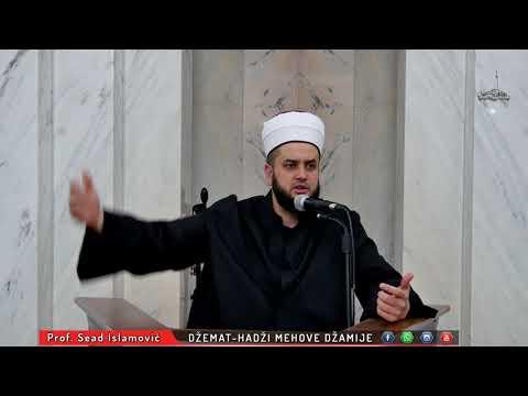 Prof, Sead Ef. Islamović -  (ders) Priprema Za Ramazan