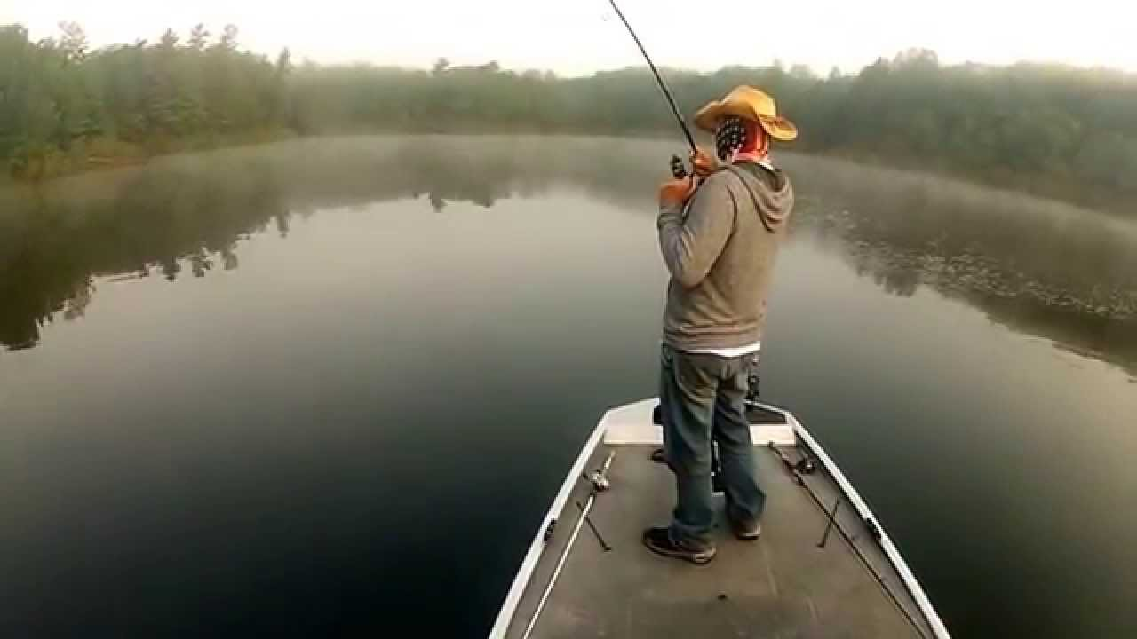 A little bass fishing in wisconsin over the 4th youtube for Wisconsin out of state fishing license
