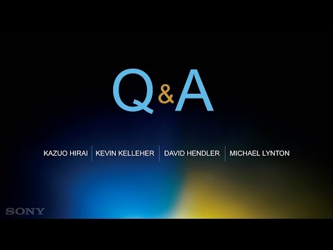 Sony Entertainment Investor Day (12) Q&A