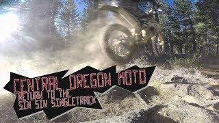Central Oregon Enduro Moto: Return to the Sin Sin Singletrack // DJI Mavic Air video
