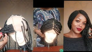 No closure.How To: Make A Braided Wig for Beginners.No closure closure braided wig