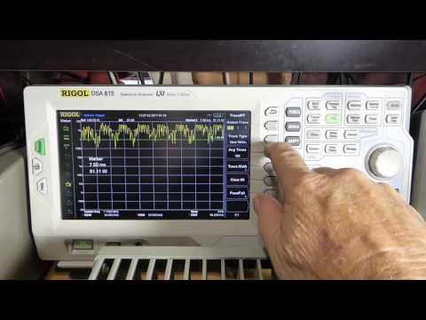 Measuring PEP Power & Occupied Bandwidth on the DSA815 TG