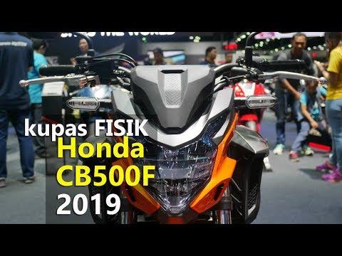 VLOG : Kupas Detail Fisik Honda CB500F 2019  | TMCBLOG