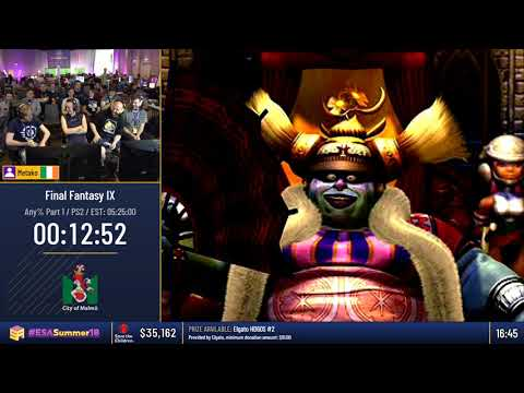 #ESASummer18 Speedruns - Final Fantasy IX [Any%] By Metako