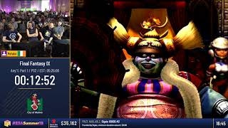 #ESASummer18 Speedruns - Final Fantasy IX [Any%] by Metako
