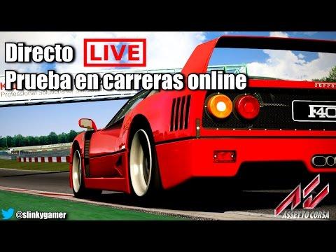 Assetto Corsa Directo - Prueba en carreras online - Thurstmaster TX & Xbox One
