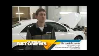 тест-драйв Toyota Camry (Тойота Камри) в программе AVTONEWS