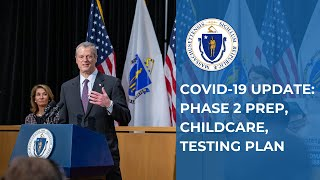 COVID-19 Update: Phase 2 Planning, Testing Plan, Childcare Updates