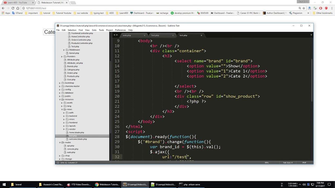 Ajax – comment box with [ javascript jquery json php mysql.