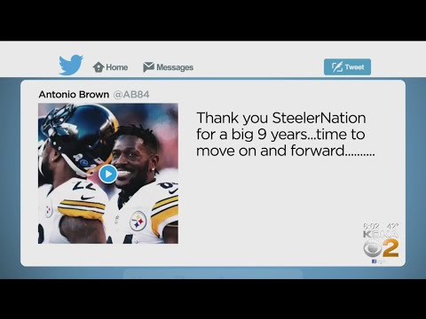Dan Rivers - Steelers' Antonio Brown Requests Trade