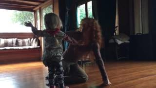 UNSCHOOLING: Morning dance