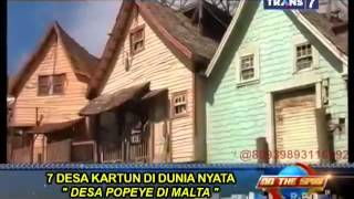 Video On The Spot - 7 Desa Kartun di Dunia Nyata download MP3, 3GP, MP4, WEBM, AVI, FLV Juni 2018