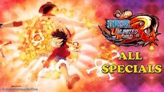 One Piece Unlimited World Red All Specials (HD)