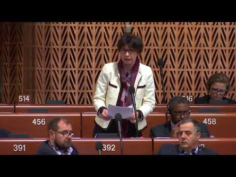 Intervention de Nicole Trisse au Conseil de l'Europe