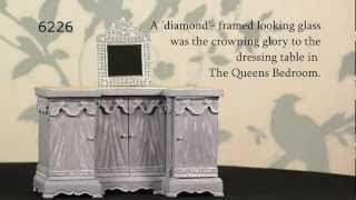 6226 Ornate Dressing Table Mirror From The Queen's Bedroom.