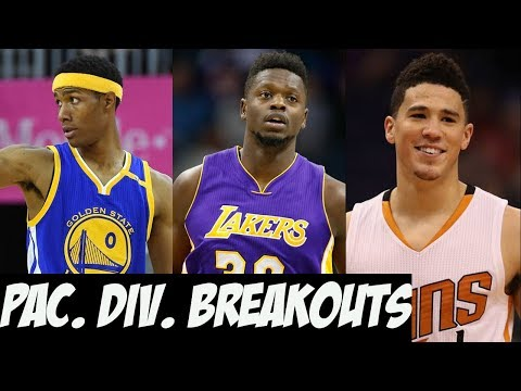 2017 - 2018 NBA Breakout Players - Pacific Division