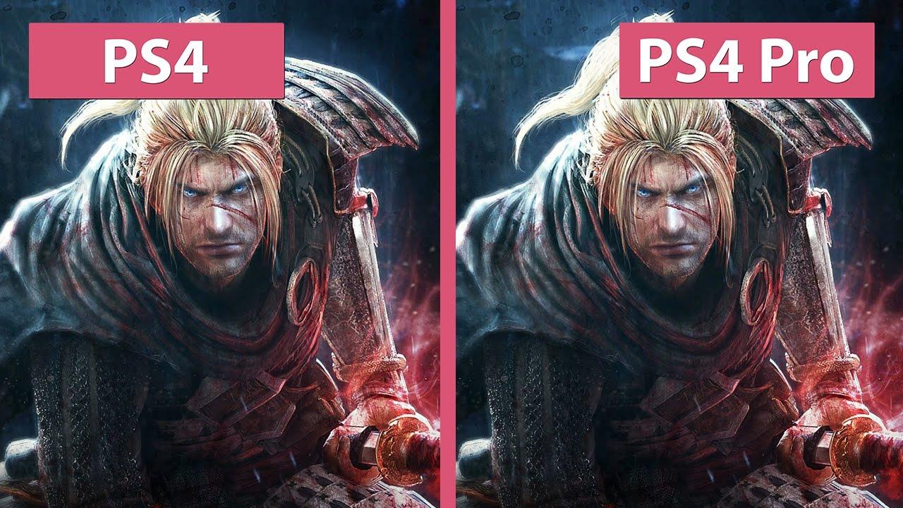 4K UHD | Nioh – PS4 vs  PS4 Pro 4K Mode Graphics Comparison