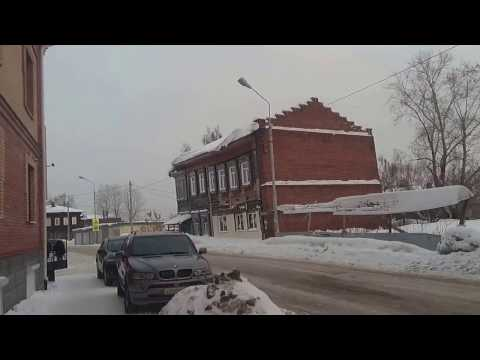 ❤ Walk in Tomsk Russia ❤ | Beautiful Old Buildings