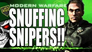 Call Of Duty Modern Warfare 2 Snipers Get Wrecked At Makarov's - How To Play Against Snipers!