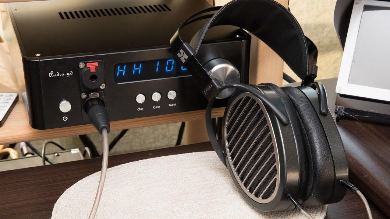 581c3b632cf Audio-gd NFB-1AMP Headphone Amplifier Review - YouTube