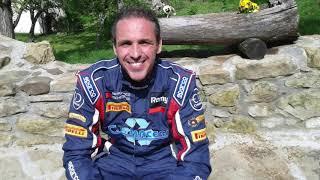 Paolo Andreucci in gara al Rally di Roma Capitale