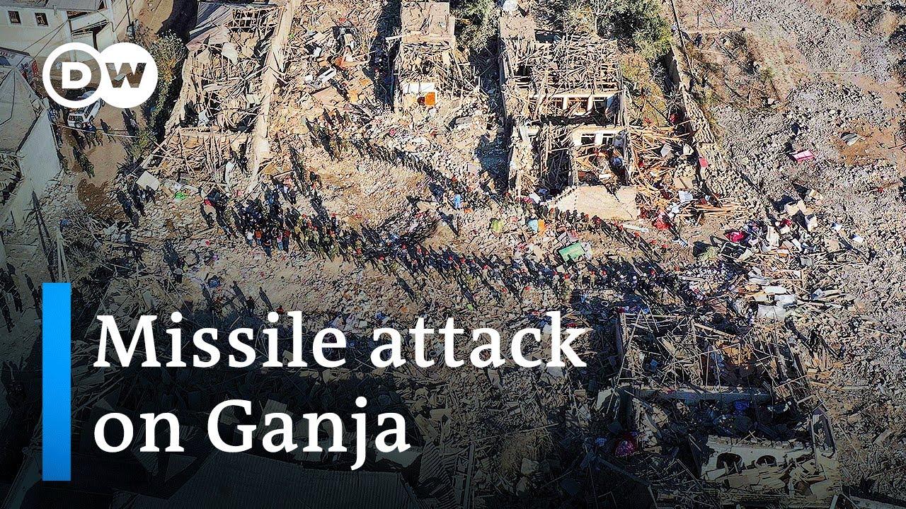 Download Azerbaijan vows revenge against Armenia for attack on Ganja | DW News