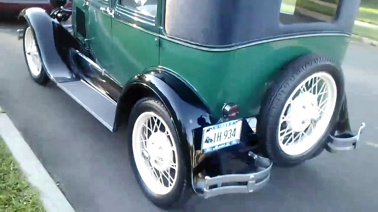 1929 4 door leatherback ford model a youtube for 1929 ford model a 4 door sedan