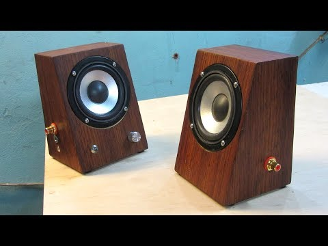 Making Simply Stereo Speakers