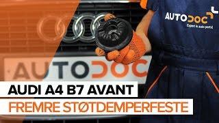 Hvordan bytte Valselager AUDI A4 Avant (8ED, B7) - online gratis video