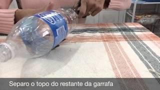 Como fazer peso de porta usando garrafa pet com Tatiana Oarakaki