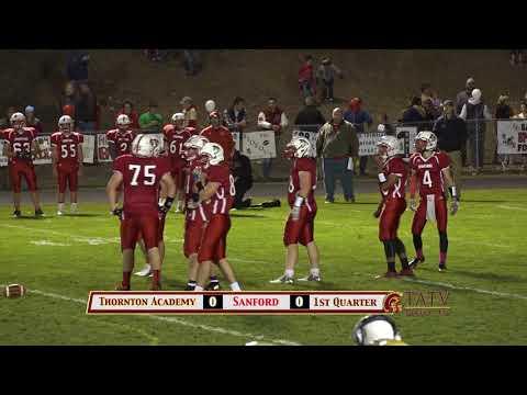 Thornton Academy vs. Sanford football - October 20, 2017