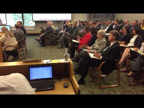 B-roll: Oregon Joint Committee on Tax Reform