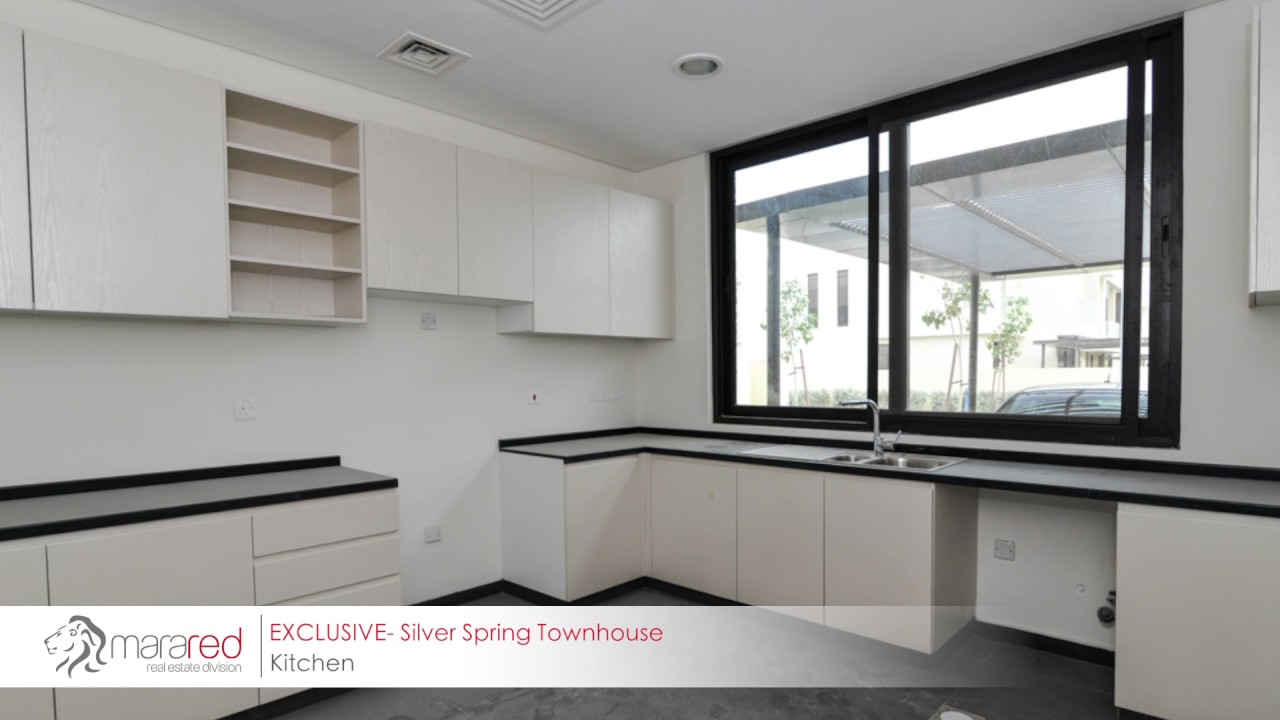 Brand New 3 Bedroom Townhouse in Akoya Silver Springs For Rent