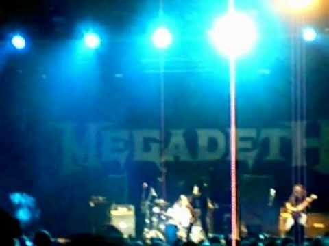 MEGADETH PARAGUAY - The Force  -  Possessed By Metal - The Force  27.11.11