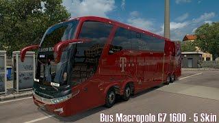 ETS2 v1.26 ★ Bus Macropolo G7 1600 + 5 Skin ★ Mod Vorstellung [Deutsch/HD]