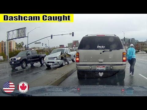 Ultimate North American Cars Driving Fails Compilation - 205 [Dash Cam Caught Video]