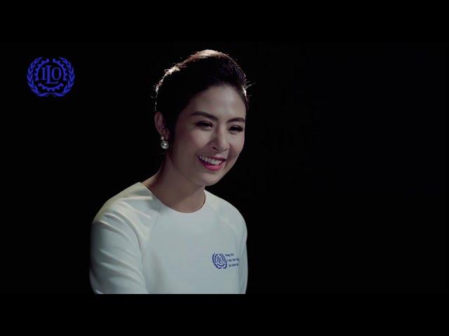Hoa hậu Ngọc Hân kêu gọi chung tay vì việc làm thoả đáng cho thanh niên