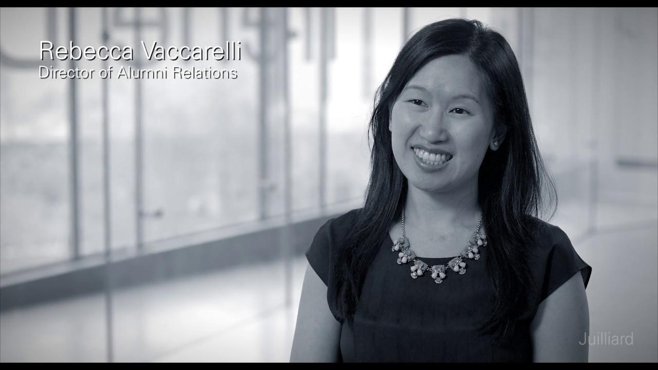 Juilliard Snapshot: Rebecca Vaccarelli on Inspiration