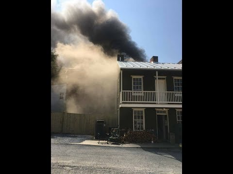 HOUSE FIRE W/ENTRAPMENT - 2 ALARMS // 124 S MARKET // WFD // AUDIO