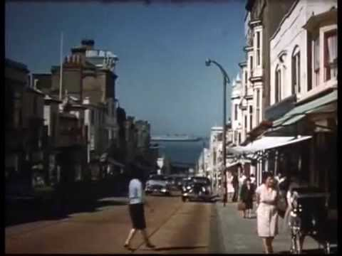 RYDE, ISLE OF WIGHT (16mm, 1950s)