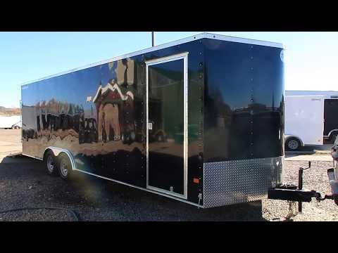 Wells Cargo 8.5x24+2 Quality made Cargo/Car Hauler trailer!