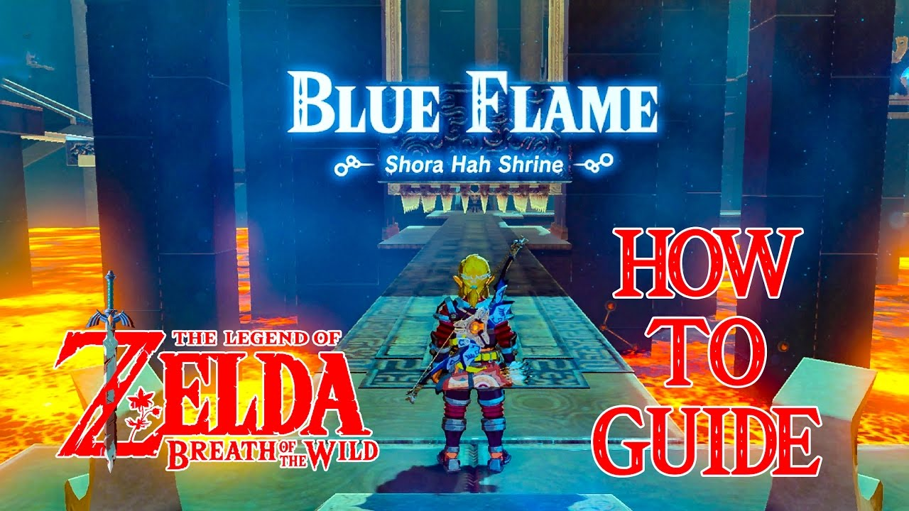 how to find the blue flame akkala zelda